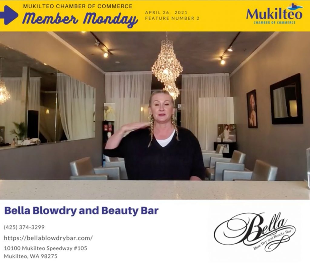 Member Monday Bella Blow Dry